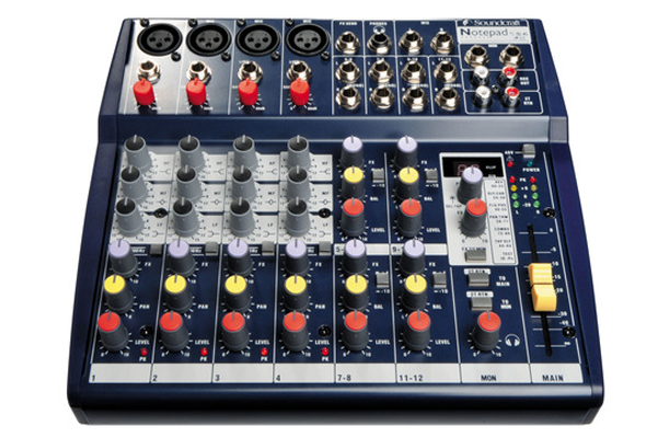 Soundcraft Notepad124FX